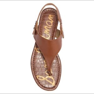 "NWOB Sam Edelman ""Cason"" Leather Sandals"